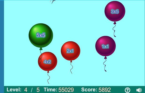 mnozenie balony