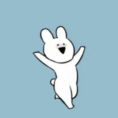 귀여운 카톡 이모티콘 추천 / 오버액션 토끼 : 네이버 블로그