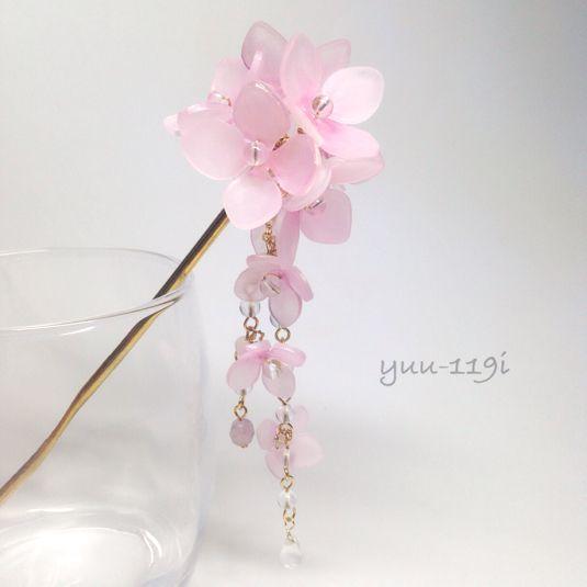 *紫陽花の簪*
