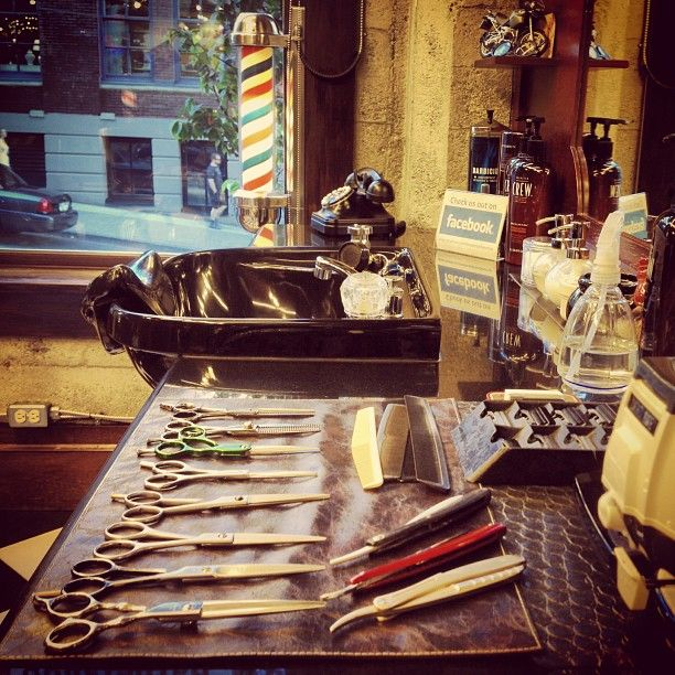 Another week begins at the #barber shop.... #barbershop #yaletown #vancouver -@Anna Totten Totten Totten Totten smith (Shelley Salehi) 's Instagram photos | Webstagram - the best Instagram viewer