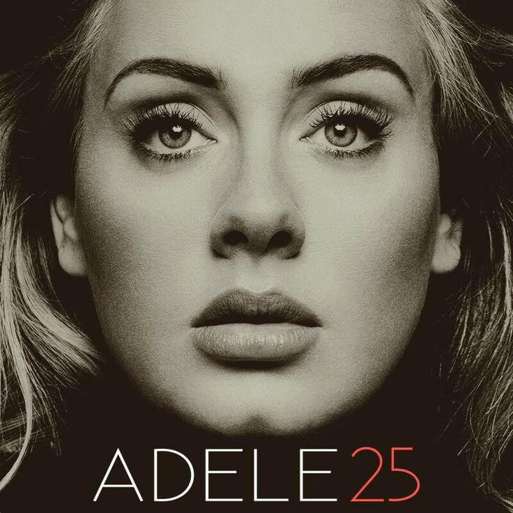 "Adele ""25"" album cover made by me."