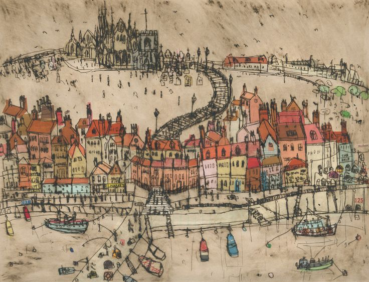 111 best Whitby images on Pinterest  Oil paintings Yorkshire and