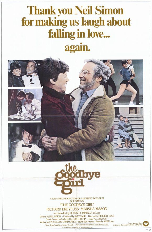 The Goodbye Girl 11x17 Movie Poster (1977)