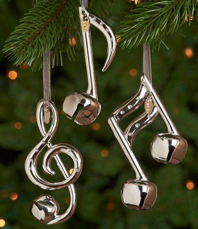 musical note ornaments #christmas #ornaments http://www.pinterest.com/TheHitman14/music-seasonalholidays-%2B/