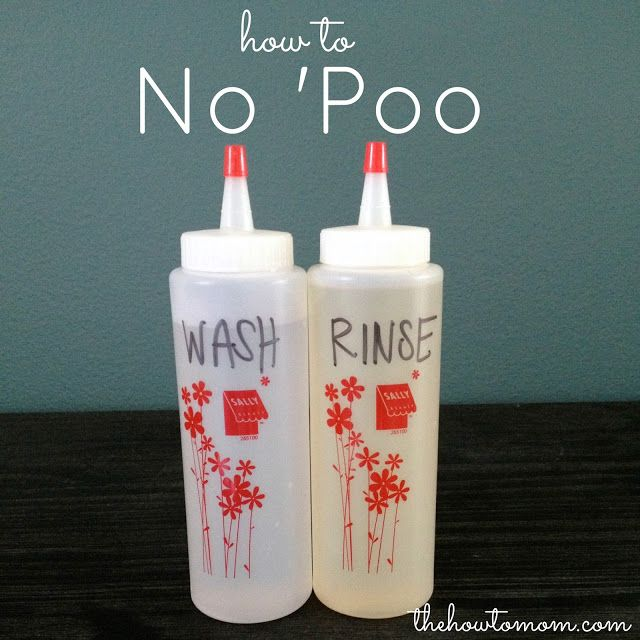 The How To Mom: How To No 'Poo Only washing my hair twice a week sounds like a wonderful time saver to me. I'm going to start this today.