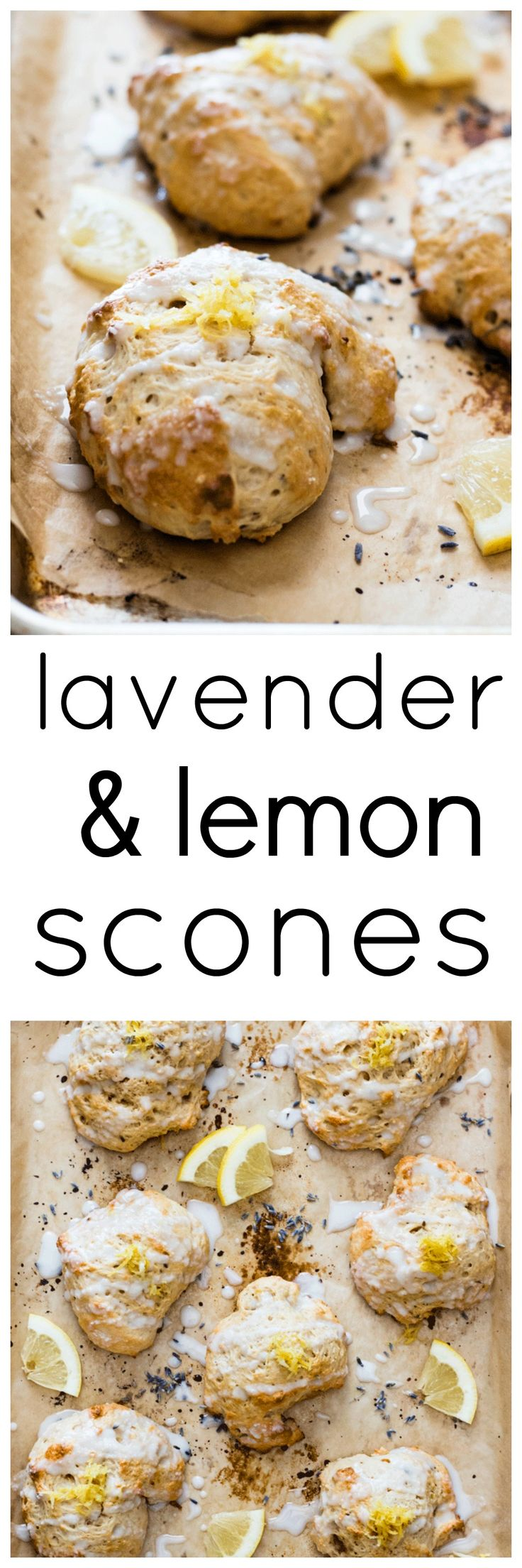 Fresh, citrusy, light and fluffy, these lemon scones just scream spring and are absolute perfection when paired with a hot cup of tea. via @wholefoodbellies