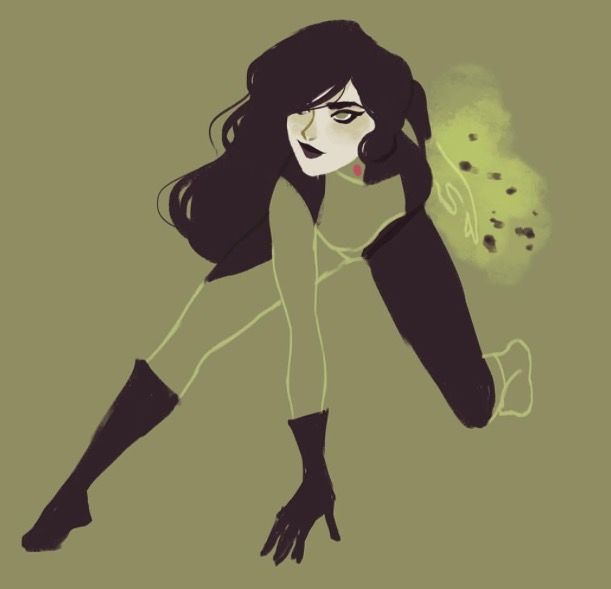 Punziella-Shego from Kim Possible