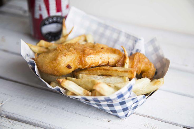 J'ai reçu, il y a quelques jours, une recette de fish'n chips à la Jérôme Ferrer fait à base de la bière Honkers Ale de Goose Island. Quand je teste une recette, je suis les instructions à la lettre !Ben