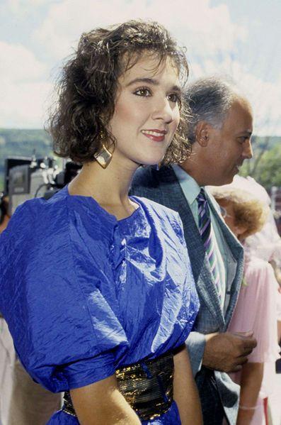 Céline Dion et René Angélil, 1987