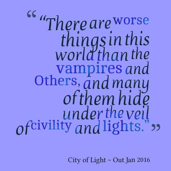 Teaser from City of Light, Available Jan 2016
