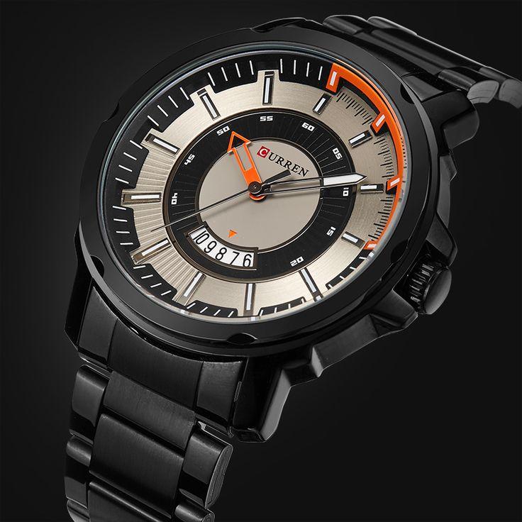 $28.18 (Buy here: https://alitems.com/g/1e8d114494ebda23ff8b16525dc3e8/?i=5&ulp=https%3A%2F%2Fwww.aliexpress.com%2Fitem%2F2017-NEW-CURREN-Luxury-Brand-Men-Military-Watches-Men-s-Quartz-Date-Clock-Male-Sports-Full%2F32739722995.html ) 2017 NEW CURREN Luxury Brand Men Military Watches Men's Quartz  Date Clock Male Sports Full Steel Wrist watch Relogio Masculino for just $28.18