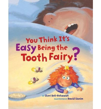 All over America, kids are losing their teeth, and who is there to gather them up, leaving coins in their places? The Tooth Fairy, of course. Readers learn about her amazing Tooth-o-Finder, marvel at her ingenious flying machine, and watch her in action, dodging dogs and cats and gerbils, in this fun picture book. Full color.
