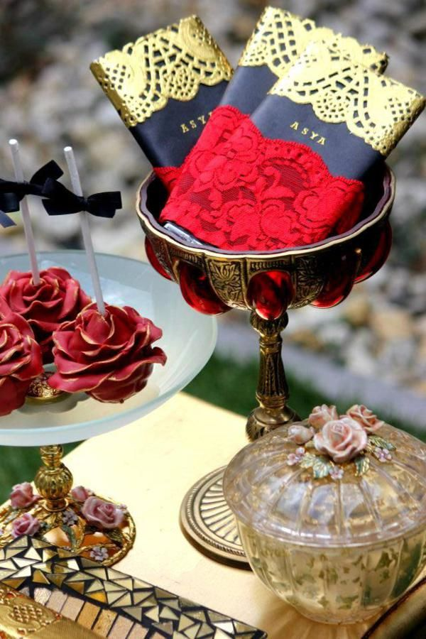 Flamenco Dancer Themed Party via Karas Party Ideas -party favors