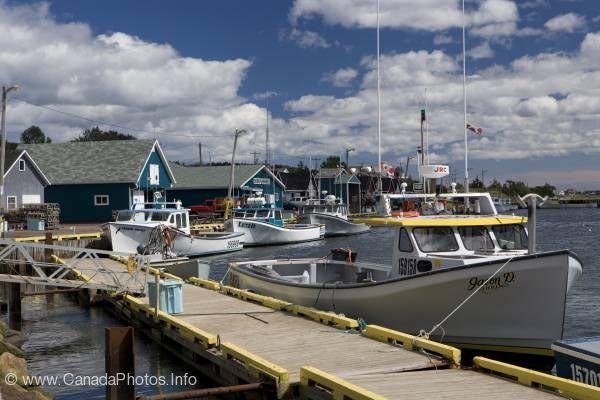 Fishing Boats North Rustico,Prince Edward Island, Canada.