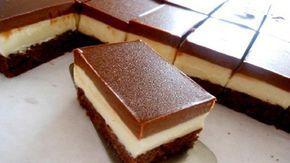 Populárne Monte kocky s báječnou chuťou! Jednoduchý smotanový dezert s kakaovým piškótom!