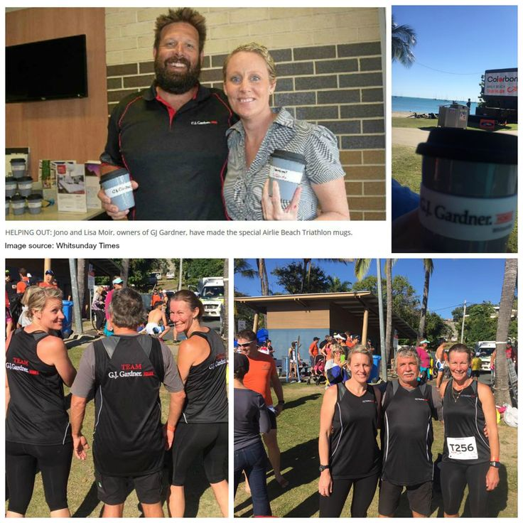 GO #GJQLD TEAM! @2016 Colourbond Airlie Beach Triathlon #GJWhitsunday #ProudSponsor: Competitors receive free coffee with reusable coffee cups to protect precious environment! Awesome event thanks to all the volunteers & big cheers to major sponsor #Colorbond Click link & view the action packed video now► https://vimeo.com/180985925 #GJQLD #GJNT www.GJGardner.com.au ★ PIN ★ LIKE ★ SEND ★