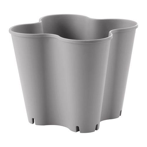 JORDGUBBE 鉢カバー IKEA 屋外で使用する場合は、ドリルで底穴を開けられます