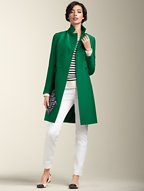 15 Must-see Green Coat Pins | Green winter coat, Style star and ...
