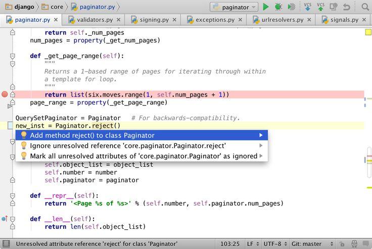 Python IDE & Django IDE for Web developers : JetBrains PyCharm
