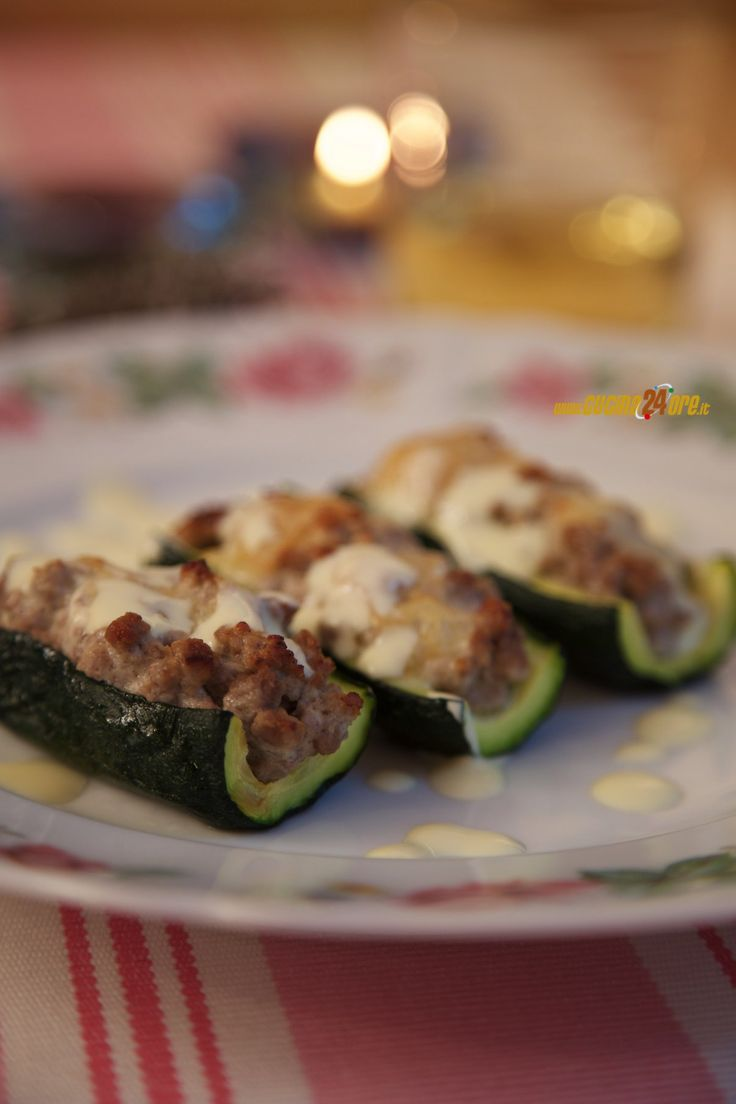Ricetta Zucchine Ripiene Senza Glutine e Nichel,Secondo piatto,Senza Glutine