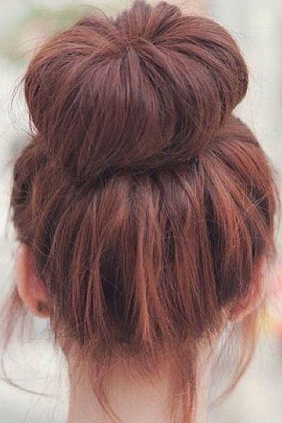 Coiffures simples et rapides pour cheveux longs et moyens - # coiffures #longueur #médium #simple - #nouveau