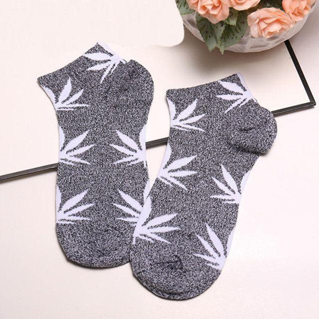 Unisex Women Short Cotton Socks