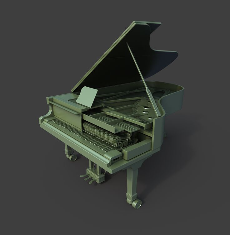 piano. Maya. 2011.
