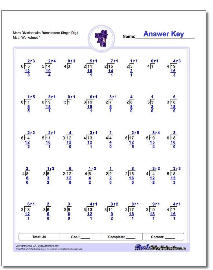 214 best division worksheets images on pinterest division math facts and math worksheets. Black Bedroom Furniture Sets. Home Design Ideas
