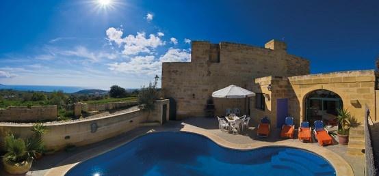 ref : greenwood340  Gozo ! Heerlijk zwembad bij je vakatiehuis op Gozo  !