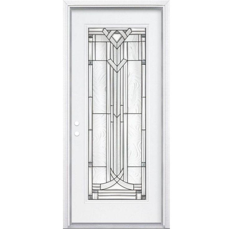 Masonite   36 In  Chatham Antique Black Full Lite Left Hand Entry Door with  Brickmould   567526   Home Depot Canada95 best Exterior doors images on Pinterest   Wall colors  Doors  . 32 Inch Entry Door Home Depot. Home Design Ideas