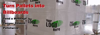 Quick Packaging News: Custom Printed Stretch Pallet Wrap