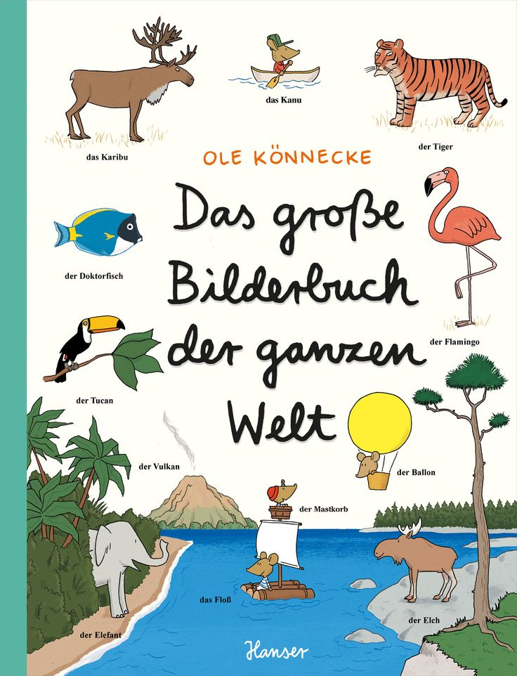 Ole Könnecke - Das große Bilderbuch der ganzen Welt