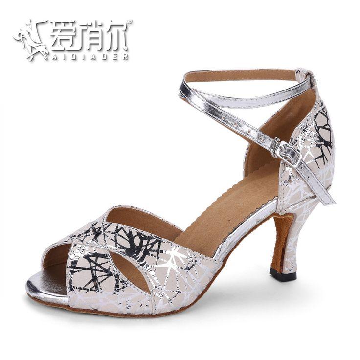 AIQIAOER Dancing Shoes For Women Genuine Leather Jazz Tango Shoes Footwear For Ballroom Dancing Zapatos De Baile Latino Mujer #Affiliate