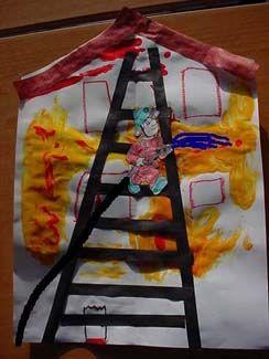 * De brandweer! Leuk met foto van kind als brandweerman/vrouw!