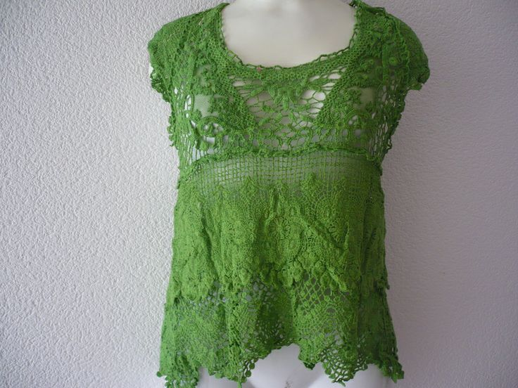 TSHIRT crochet de PIKMODE por DaWanda.com