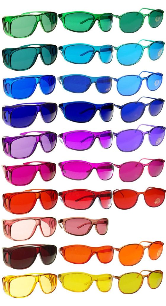 Color Tinted Sunglasses What Better Gift For A Color