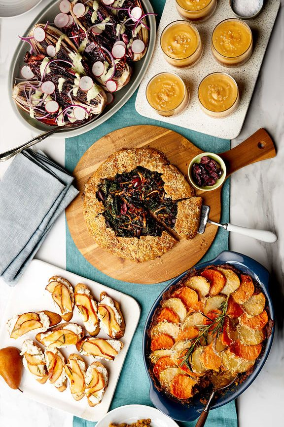 A Vegetarian Dinner Party Menu For The Weekend Ahead Dinner Party Menu Food Vegetarian