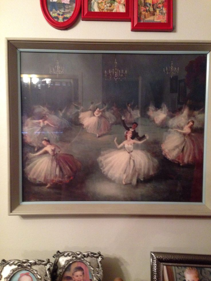 I love these vintage ballet prints