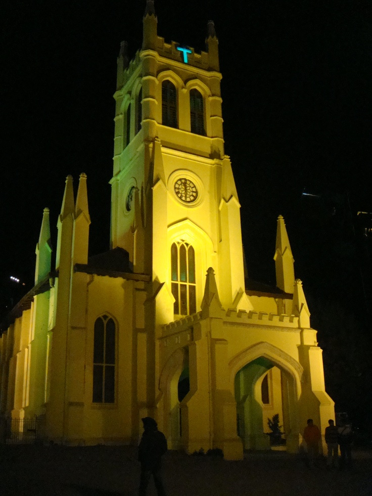 Christ Church, Shimla, Himachal Pradesh #India