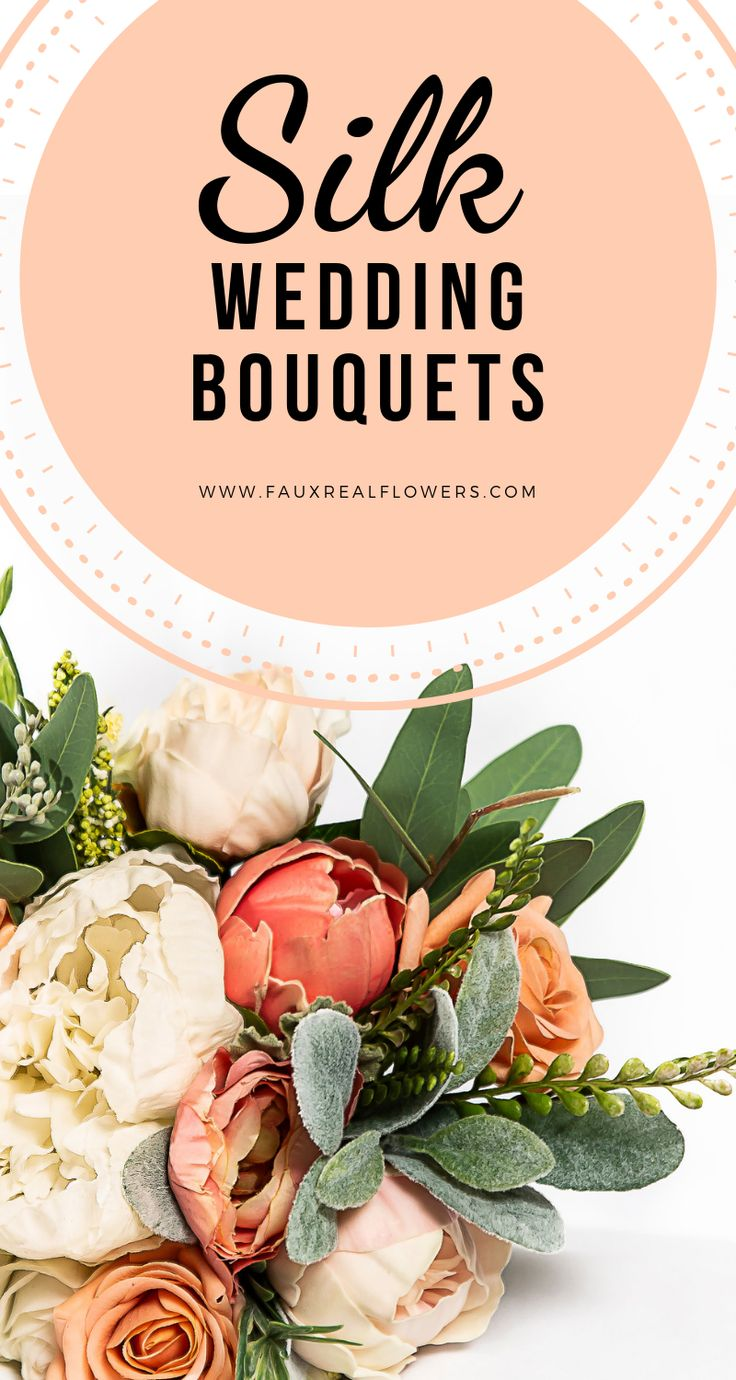 Silk Wedding Bouquets Handmade with Highest Quality Flowers