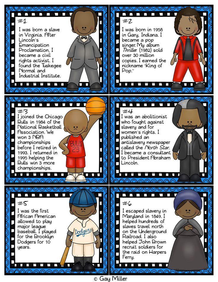 28 Best Black History Month Kindergarten Images On