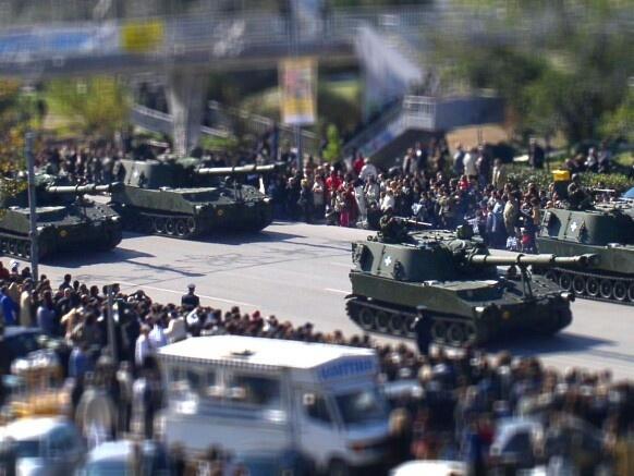 2002 Military parade. Thessaloniki, Greece.
