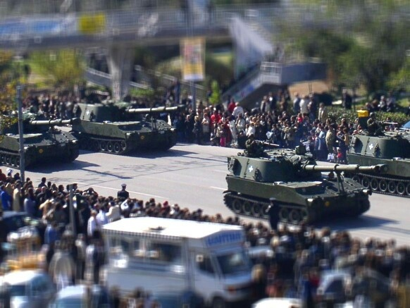 2002 Military parade. Thessaloniki, Greece.