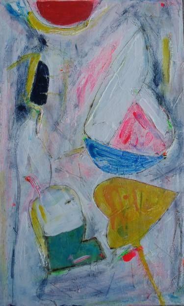 """Saatchi Art Artist Vanda Parker; Painting, """"REEF DIVE"""" #art"""