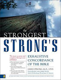 Strongest Strong's Exhaustive Concordance