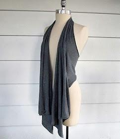 gilet: Tees Shirts, No Sewing, Idea, Style, T Shirts Vest, Diy Clothing, Draping Vest, Old T Shirts, Minute Draping