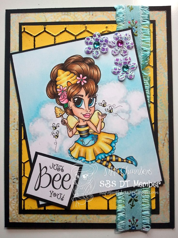 Beehive Queen from Simply B Stamps