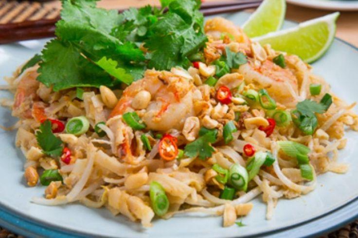 Pad Thaï ...sauce aux arachides épicée