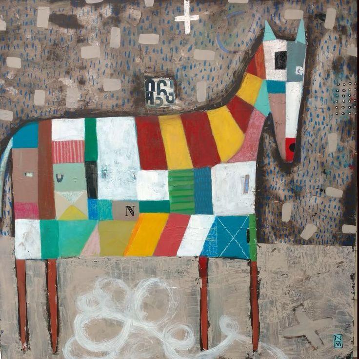 Big Horse - Artist: Nathaniel Mather
