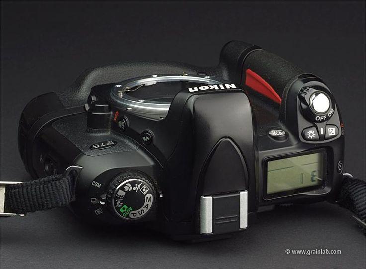 Nikon F75 + MB-18